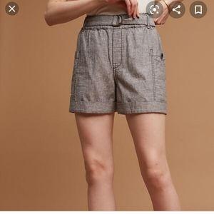 Hei Hei/ anthropologie Marnie linen shorts